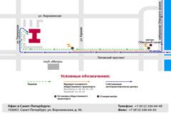 Санкт-Петербург, ул.Воронежская, д. 96, +7 (812) 326-64-48